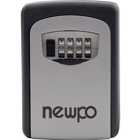 Boîte à clés sécurisée   Code à 4 chiffres   HxLxP 122 x 87 x 40 mm   newpo
