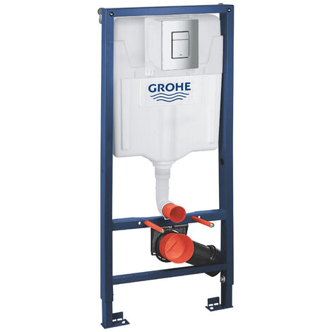 GROHE Rapid SL 1.13m 3 in 1 Set Concealed Cistern Frame Wall Hung 38772001