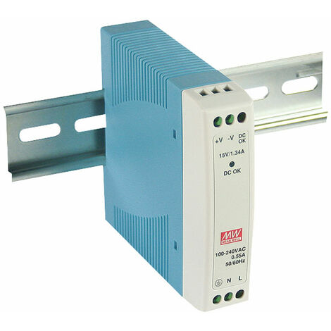 Mean Well MDR-10-12 12V / 10.08W Mini Din Rail PSU
