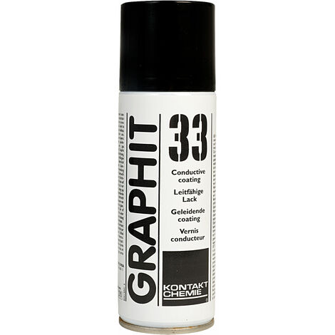 Kontakt-Chemie 207606091242 Graphit 33 Spray 200ml