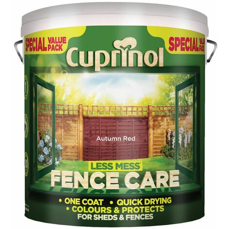 Cuprinol Less Mess Fence Care (select size & colour)