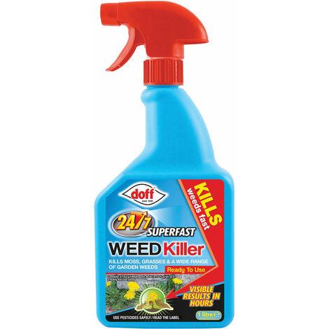 24/7 Superfast Weedkiller RTU 1 litre