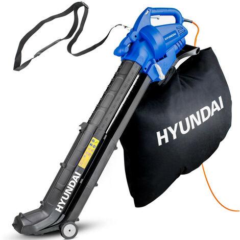 Hyundai HYBV3000E 3-in-1 Electric Garden Vacuum, Leaf Blower and Mulcher