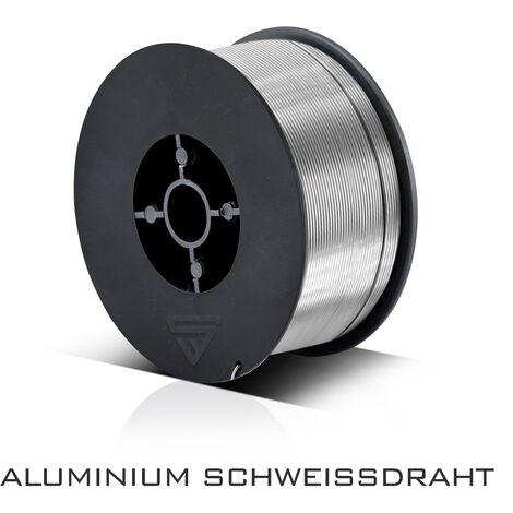 MIG MAG Fil à souder en aluminium ER4043 Si5 (ALSI-5) Ø 0,8 mm Rouleau de 0,45 kg