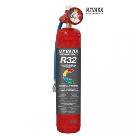KIT RICARICA DIAGNOSI CONDIZIONATORI CLIMATIZZATORI GAS R32 780gr