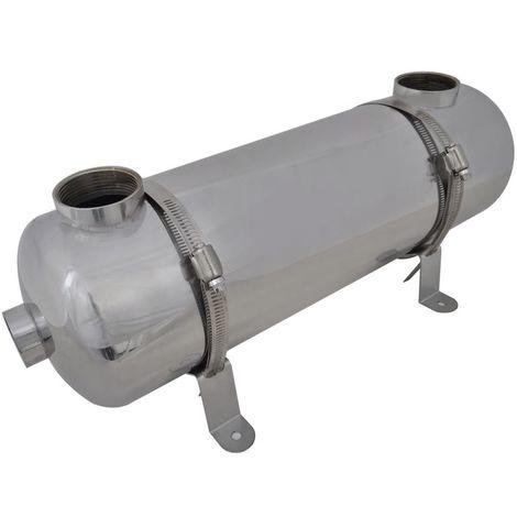 Scambiatore di calore per piscina 485 x 134 mm 60 kW