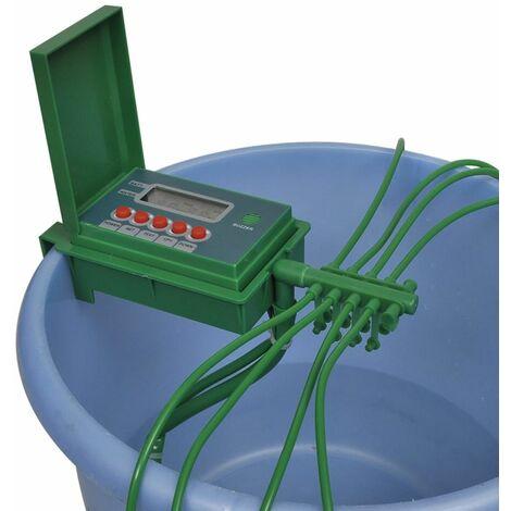 Sistema di Irrigazione Automatico con Spruzzatore e Timer