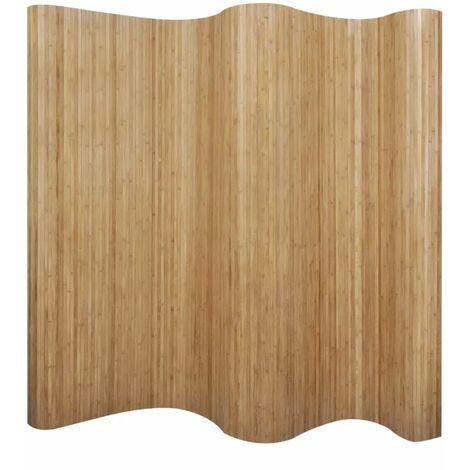 Raumteiler Bambus Natur 250¡Á195 cm
