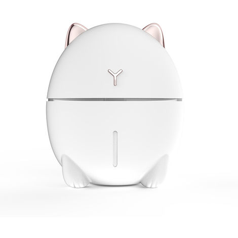 Humidifier Atomizer 200Ml LED Lamp White