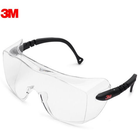3M / 12308 Clear Glasses Anti-Fog Safety Goggle Eyewear for Eye Protection Personal Protective Equipment