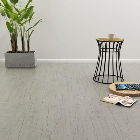 Self-adhesive Flooring Planks 4.46 m2 3 mm PVC Oak Washed