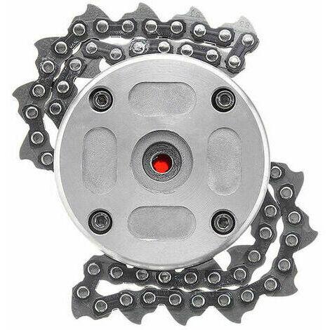 65Mn Chain Trimmer Garden Grass Head Brushcutter Trimmer for Lawn Mower