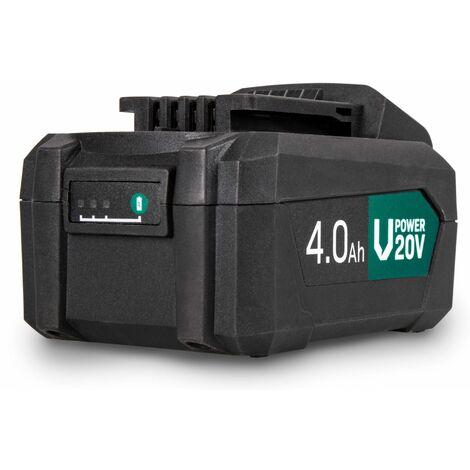 VONROC Batería VPower – Ión-litio de 20V - 4,0Ah