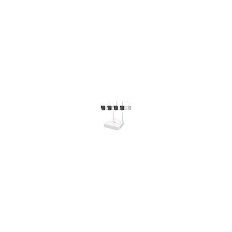 Kit Video Surveillance Wifi 4 Cameras, Disque Dur 2t