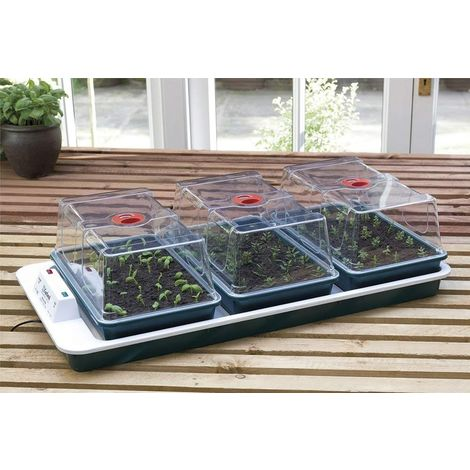Garland Big 3 Electric Propagator - 37cm long x 22cm wide x 18.5cm high