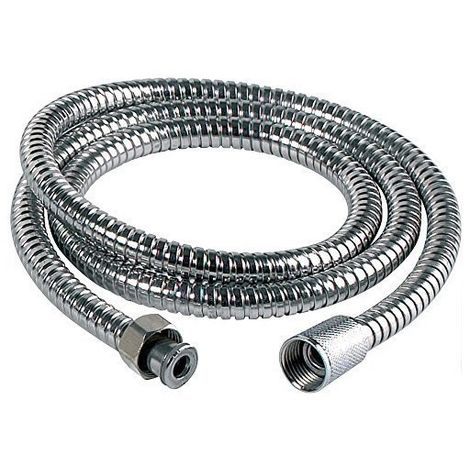 Sabichi Double Lock Shower Hose - Stainless-Steel - Silver - 1.5 m