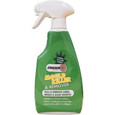 Zinsser Proffesional Mould, Fungi and Algae Killer and Remover - 500ml