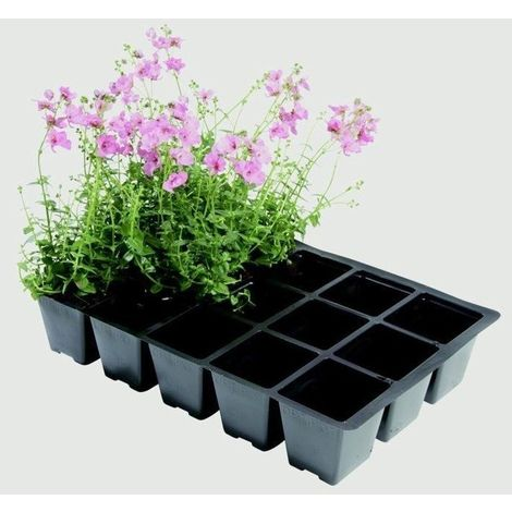 Garland Professional 24 Seed Tray Cell Inserts For Plants Gardening - Pack of 5