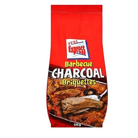 Fuel Express BBQ Barbecue Charcoal Briquettes 5kg Bag
