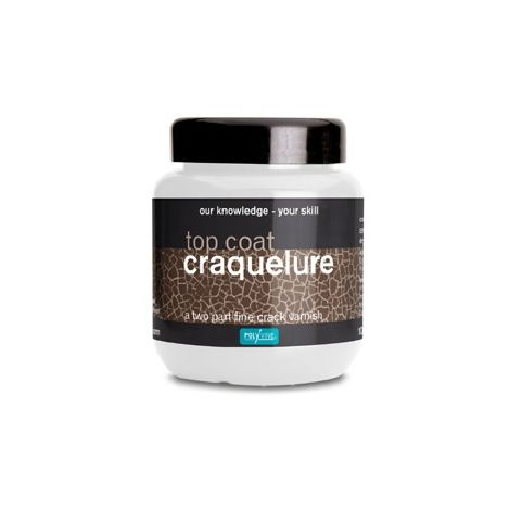 Polyvine Craquelure Top Coat / Base Coat 100ml 500ml & 1 Litre Water Based