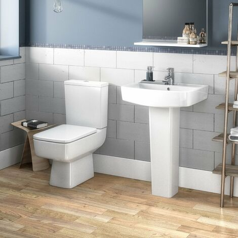 Nuie Bliss Bathroom Suite 1 Tap Hole