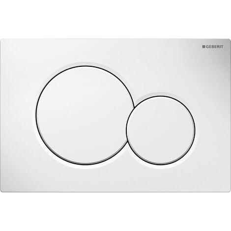 Geberit actuator plate Sigma30, for flush/stop flush, screwable