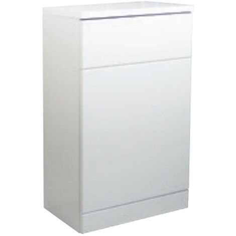 Verona Trevi Back to Wall Toilet Unit 500mm Wide White