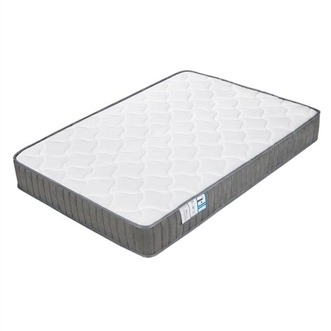 4ft6 Double Mattress, Pocket Sprung Mattress with Memory Foam and Tencel Fabric - Orthopaedic Mattress with Individually Wrapped Spring - Medium Firm Feel - Thickness: 22CM/8.7Inch