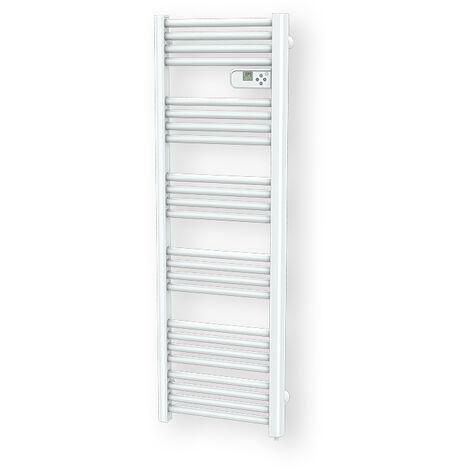 Cayenne radiateur sèche serviette 600W compact blanc LCD - Blanc