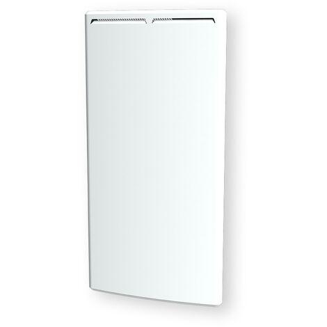 Cayenne radiateur à inertie céramique 1500W vertical et bombé LCD - Blanc