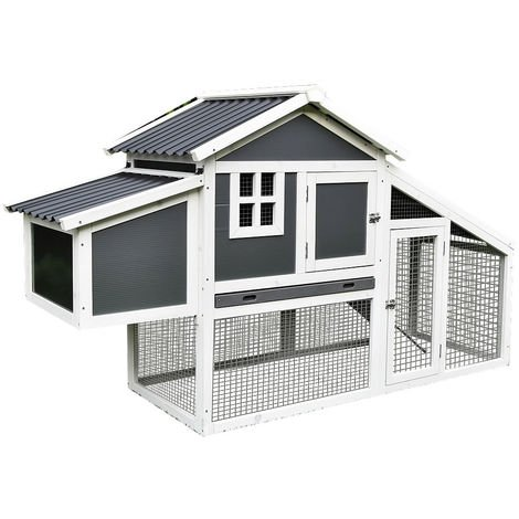 henhouse chicken house egg deposition poultry house laying nest chicken aviary stable white / grey