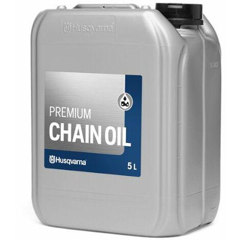 Olio minerale per catena della motosega Husqvarna Chain Oil - 5 Lt