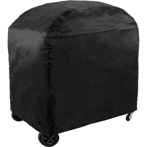 PrimeMatik - BBQ cover 145 x 61 x 117 cm rectangular. Waterproof barbecue protective cover