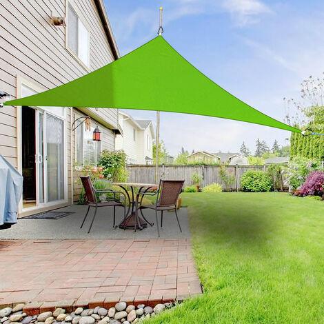Greenbay Sun Shade Sail Garden Patio Party Sunscreen Awning Canopy 98% UV Block Triangle