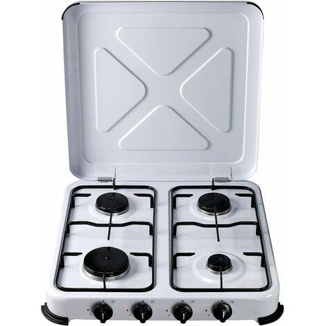 Cocina Portatil 515x510x95mm 1,4/1,2/1,2/0,85 Kw A Gas Vivah