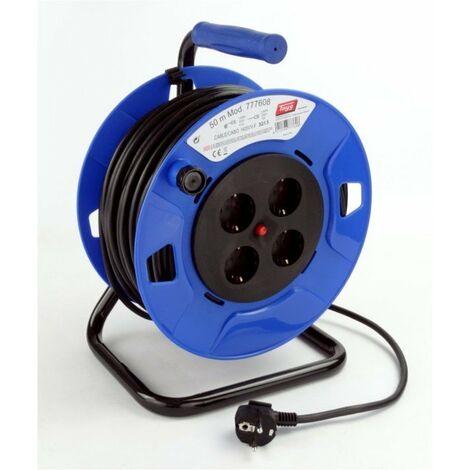 Enrollacable Elec 3x1,5mm 50mt 3000w 265mm Ip20 4t-tt Term.