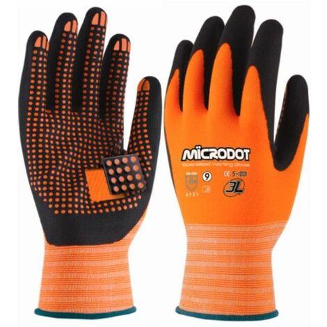 Guante mecanico l09 puntos dot-t microdot nyl na/ne 3l