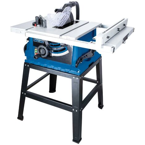 TABLE SCIE CIRCULAIRE SCHEPPACH HS105 255MM 2000W 230V