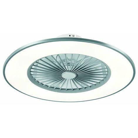 Ventilador de techo LED con mando 56cm Bofu