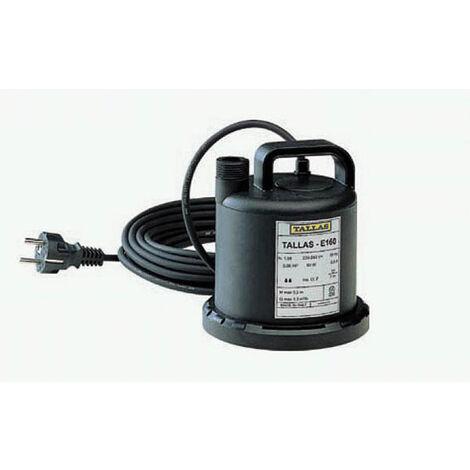 Tallas Flachsauger-Tauchpumpe E 160 NA, flachsaugend bis 3 mm, 90 Watt