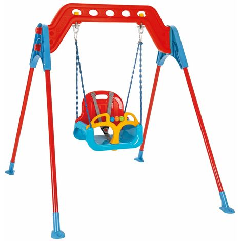 Altalena Per Bambini Samba Con Seggiolino Per Neonati 126X126X135 Cm