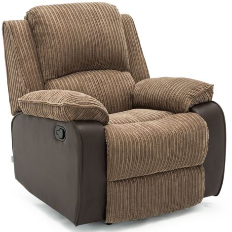POSTANA FABRIC RECLINER ARMCHAIR - different colors available
