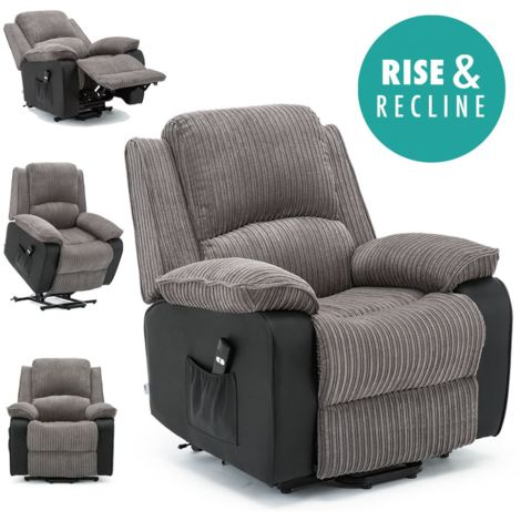 POSTANA RISE RECLINER FABRIC ARMCHAIR - different colors available