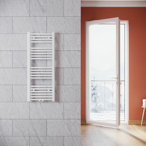 SONNI Heizkörper Badezimmer Badheizkörper mittelanschluss Handtuchwärmer Handtuchtrockner