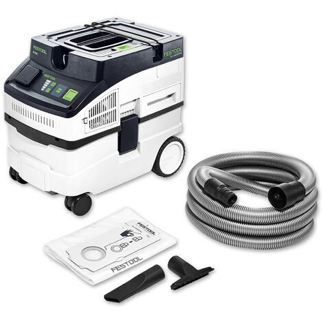 Festool CT 15 E Mobile Dust Extractor 15L 240V CLEANTEC 574830:240V