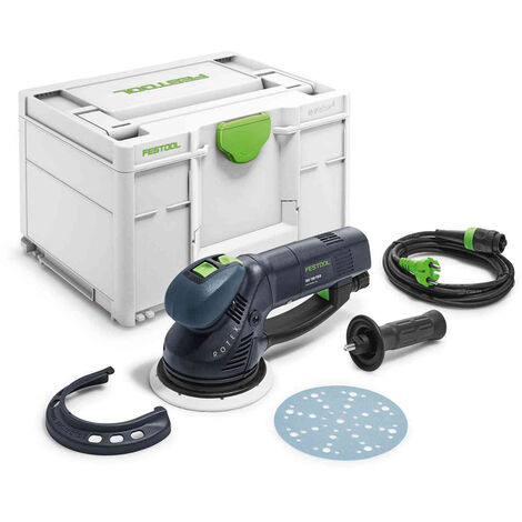 Festool RO150FEQ-Plus 110V Eccentric Sander Systainer Case 575073
