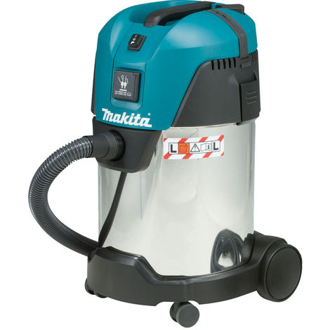 Makita VC3011L 240V Wet and Dry L Class Dust Extractor 28L