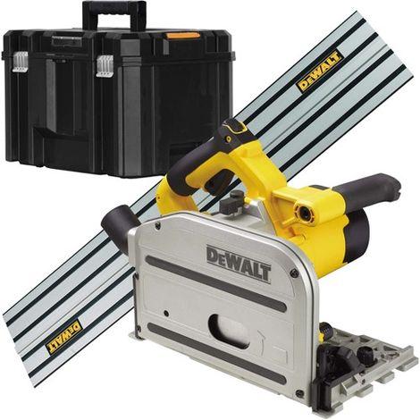 Dewalt DWS520KT 165mm Plunge Saw 1300W 240V & 1.5m Guide Rail DWS5022