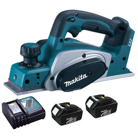 Makita DKP180Z 18V LXT Planer 82mm With 2 x 3.0Ah Battery & Charger