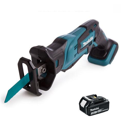 Makita DJR185Z 18V Mini Reciprocating Saw Body With 1 x 3.0Ah Battery:18V